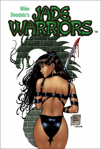 <i>Jade Warriors</i> Portland Comic Con VIP Exclusive Lithograph by Mike Deodato Jr.