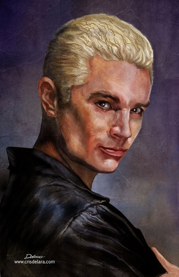 <i>James Marsters</i> Nashville Comic Con VIP Exclusive Lithograph by Cris Delara