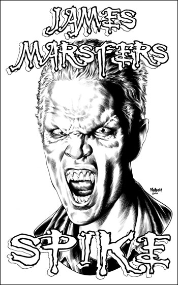 <i>James Marsters</i> Wizard World Comic Con VIP Exclusive Lithograph by Cris Delara