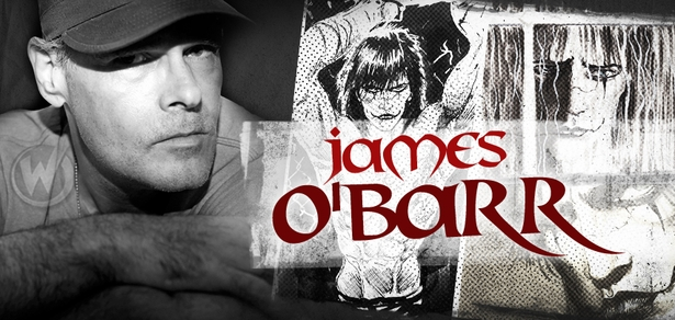James O�Barr, <i>THE CROW</i> Creator, Coming to Greenville, Des Moines, Richmond, Chicago, San Jose, Fort Lauderdale, Tulsa, Austin, Louisville & Reno!