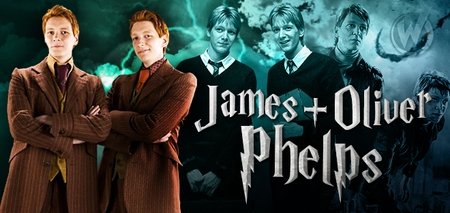 James & Oliver Phelps, <i>Fred and George Weasley</i>, HARRY POTTER, Coming to Minneapolis & Philadelphia!
