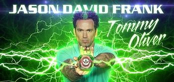 Jason David Frank �Tommy Oliver/The Green Ranger,� <i>Mighty Morphin� Power Rangers</i>, Coming to All Wizard World Shows!