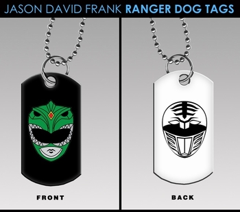 <i>Jason David Frank</i> Wizard World Exclusive Ranger Dog Tags