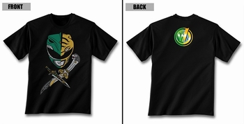 <i>Jason David Frank</i> Wizard World Exclusive Helmets & Daggers T-Shirt