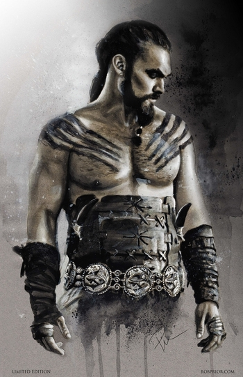 <i>Jason Momoa</i> Louisville VIP Exclusive Lithograph by Rob Prior