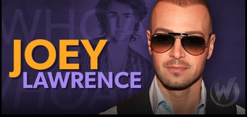 Joey Lawrence, <i>Joey Russo</i> from �Blossom,� Joins the Wizard World Comic Con Tour!