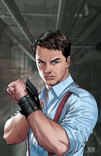 <i>John Barrowman</i> Philadelphia Comic Con Wizard World VIP Exclusive Lithograph by Mike Miller