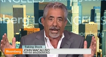 John Macaluso Appears On Bloomberg TV �Taking Stock� Program