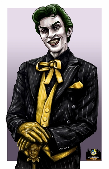 <i>Joker</i> New Orleans Comic Con Exclusive Lithograph by Ashleigh Popplewell