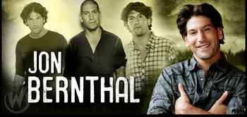 Jon Bernthal, <i>Shane Walsh</i>, �The Walking Dead,� Coming to New Orleans!