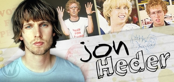 Jon Heder, <i>Napoleon Dynamite</i>, Joins the Wizard World Comic Con Tour!