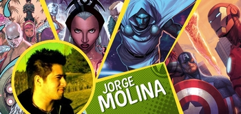 Jorge Molina, <i>Uncanny X-Men</i> Artist, Joins the Wizard World Comic Con Tour!