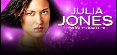 Julia Jones, Twilight & ER Star, To Appear @ Big Apple Comic Con!