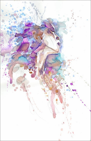 <i>Kabuki: Reflections</i> Portland Comic Con VIP Exclusive Lithograph by David Mack