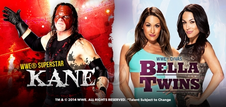 WWE� Superstar Kane�, Divas The Bella Twins� Added To Wizard World Nashville Comic Con, Saturday, September 27