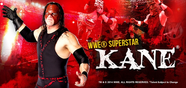 WWE� Superstar Kane� Coming to Nashville Comic Con!