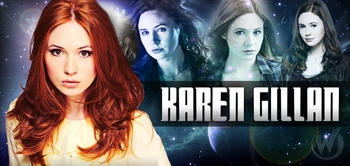 Karen Gillan, <i>Amy Pond</i>, �Doctor Who,� Coming to Fan Fest Chicago!