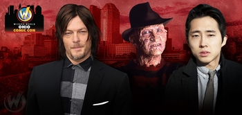 Steven Yeun, Robert Englund Headline Celebrity Guests @ Wizard World Ohio Comic Con, October 31-November 1-2