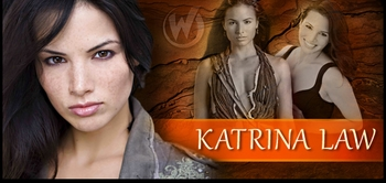 Katrina Law, <i>Mira</i> from �Spartacus,� Joins the Wizard World Comic Con Tour!