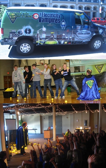 Kentucky Science Center, �Captain Current� To Power �Kids Day� @ Wizard World Louisville Comic Con!