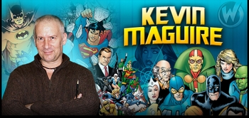 Kevin Maguire, <i>Justice League</i> Artist, Joins the Wizard World Tour!