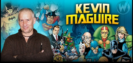 Kevin Maguire, <i>Justice League</i> Artist, Coming to Nashville, Austin, Ohio, Tulsa & Reno!