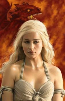 <i>KHALESSI</i> Atlanta Comic Con Exclusive Lithograph by Alice of Wonderland Entertainment