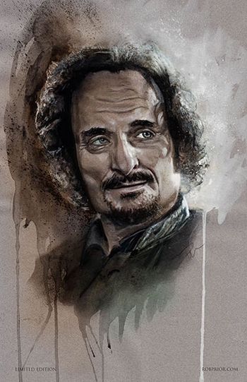 <i>Kim Coates</i> Portland Comic Con Wizard World VIP Exclusive Lithograph by Rob Prior
