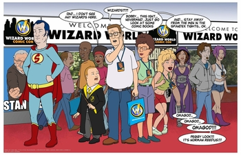 <i>King of the Fanboys</i> Wizard World Comic Con Exclusive Lithograph by Joel Adams