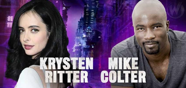 �Jessica Jones,� Duo Krysten Ritter, Mike Colter To Attend Wizard World Portland, February 20-21