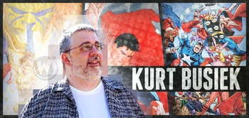 Kurt Busiek, <i>EISNER AWARD WINNER</i>, Coming to Portland Comic Con!