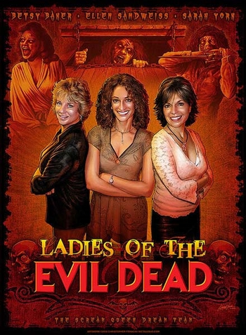 Ladies of THE EVIL DEAD, �<i>Linda, Cheryl, Sherry</i>,� Celebrating With Bruce Campbell @ Bruce Campbell�s Horror Fest!