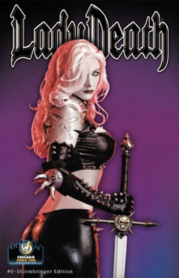 <i>Lady Death #0 Stormbringer Edition</i> Wizard World Chicago Exclusive