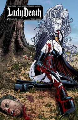 Lady Death Ashcan Chicago Comic Con VIP Exclusive!