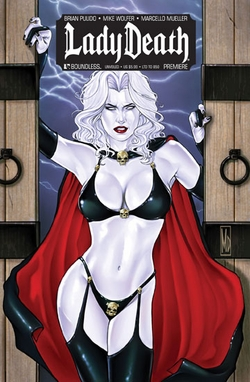 Lady Death Premiere Unveiled Chicago Comic Con Exclusive