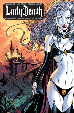 Lady Death Premiere Unveiled Chicago Comic Con Exclusive 4-Day Ticket Incentive
