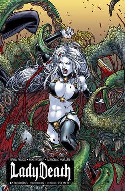 Lady Death Premiere Wizard World Philadelphia Comic Con Exclusive