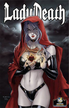 <i>Lady Death: Sacred Heart</i> Print by Richard Ortiz & Diego Garcia