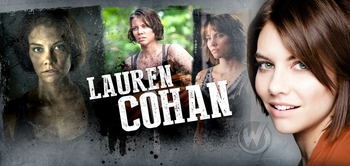 Lauren Cohan, <i>Maggie Greene</i>, �The Walking Dead,� Joins the Wizard World Comic Con Tour!