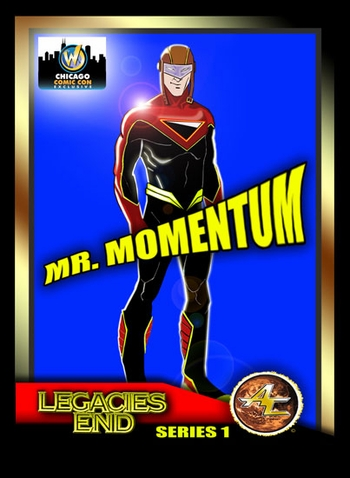 <i>Legacies End Mr. Momentum</i> Trading Card Chicago Comic Con Exclusive