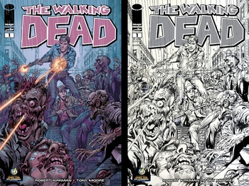 Legend Neal Adams� Variant Cover of Robert Kirkman�s ��The Walking Dead #1�� Debuts at Wizard World Comic Con NYC Experience