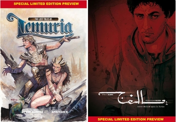 <i>Lemuria</i> Special Limited Edition Preview Chicago Comic Con Exclusive by Sytse S. Algera & Apriyadi K.