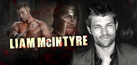 Liam McIntyre, <i>Spartacus</i>, �Spartacus: War of the Damned,� Coming to Indianapolis, Raleigh & St. Louis!