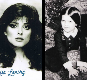 Lisa Loring as the world turns