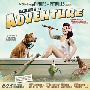 <i>Little Darling�s Pinups for Pitbulls, Inc.</i> Nashville Comic Con Exclusive 2014 Calendar Photographed by Celeste Giuliano and Designed by David Seidman
