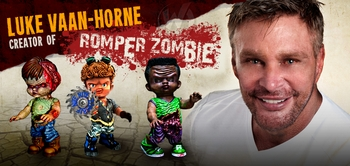 Luke Vaan-Horne, <i>Romper Zombie</i>, Joins the Wizard World Comic Con Tour!