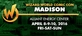 Wizard World Comic Con Madison 2016 3-Day Weekend Admission April 8-9-10, 2016