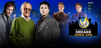 �Man of Steel' Star Michael Shannon, Zachary Quinto, Stan Lee, Norman Reedus, John Barrowman, WWE� Superstar CM Punk� Among Prominent Celebrity Guests At Wizard World Chicago Comic Con, August 8-11