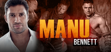 Manu Bennett, THE HOBBIT: AN UNEXPECTED JOURNEY & �Arrow,� Coming to Austin, Ohio & Tulsa Comic Cons!