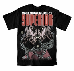 Mark Millar & Leinil Yu �Superior� Big Apple Comic Con Exclusive T-Shirt